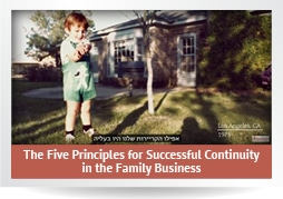 The five principles for successful continuity in the family business - video#2